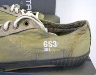 Star Shoes Ithica Dune Canvas Designer Tan Olive Green Men New