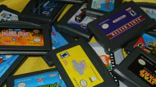 Nintendo Game Boy Advance Cartridge Lots to Choose From   You Pick