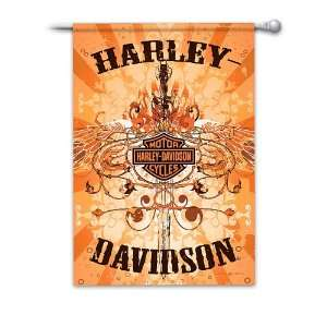 Ultimate Harley Davidson Flag Collection Patio, Lawn