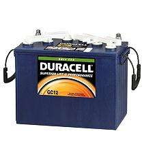 Duracell Golf Car Battery Group Size Gc