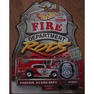 Mattel Hot Wheels Fire Department Rods Series 1 #6 6/12 Phoenix, AZ