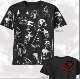 New Star Wars Movie Darth Vader Dark side T shirt top