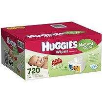 Huggies Natural Care Baby Wipes, 720 ct.