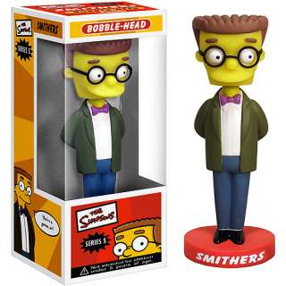 Wacky Wobbler Smithers Bobble Head Action Figures