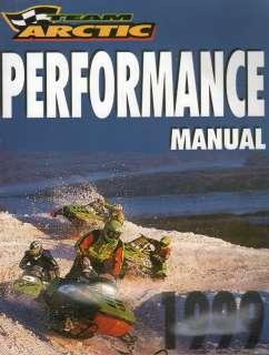 1999 ARCTIC CAT SNOWMOBILE PERFORMANCE RACING SERVICE MANUAL