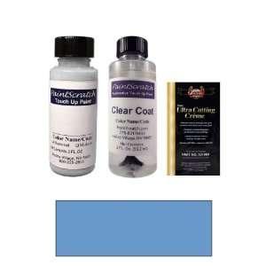 2 Oz. Harbor Blue Metallic Paint Bottle Kit for 1991 Mazda