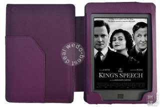 Cover Case Pouch with LED light lighted for  Kindle Touch