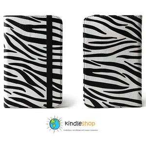 Slim and Stylish Kindle Zebra Case Cover PU Leather 3 3G Wi Fi