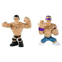 WWE Rumblers Action Figures 2 Pack   John Cena & Wade Barrett