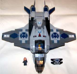 Marvel Super Heroes Lego The Avengers Black Widow with S.H.I.E.L.D