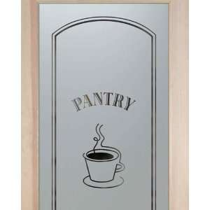 Glass Pantry Door 2/0 x 6/8 French 1 Lite Doors Frosted