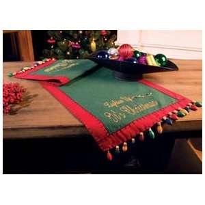 Lighten Up Christmas Table Runner Lighten Up Christmas Table Runner