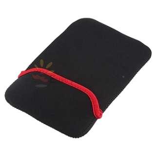 Purple Leather Case+Screen Protector+Stylus+Earphone+Sleeve Bag For