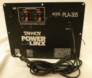 Tannoy PLA 305 Power Linx 5 Channel Power Amplifier,b