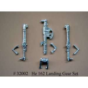 : Scale Aircraft Conversions 1/32 He162 Salamander Main Landing Gear