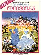 Cinderella Disney Classic Piano Guitar Sheet Music Book