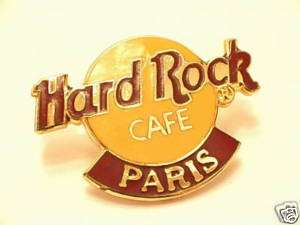 Hard Rock Cafe PARIS Logo Pin. RARE @