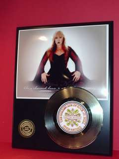 STEVIE NICKS 24k Gold Record Pop Gift Limited Edition