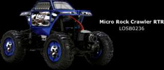 RC 124th Scale Losi Mini Rock Crawler (BND) Truck