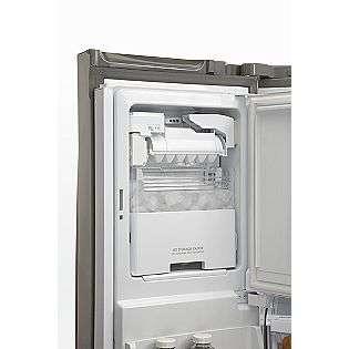 24.7 cu. ft. French Door Bottom Freezer Refrigerator Stainless Steel