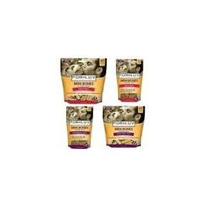 Pur Luv Mini Bones Peanut Butter 11 Pack Pet Supplies