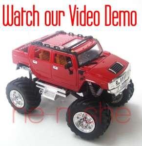 Mini Radio Remote Control RC Pickup Monster Truck Jeep 2008D 1 9180 1