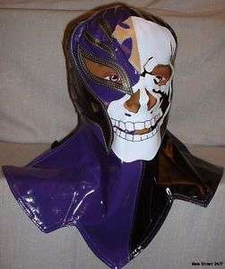 REY MYSTERIO DELUXE Over The Head Kids Size SKULL MASK