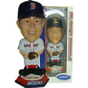 Daisuke Matsuzaka Red Sox Knucklehead Bobble: Sports & Outdoors