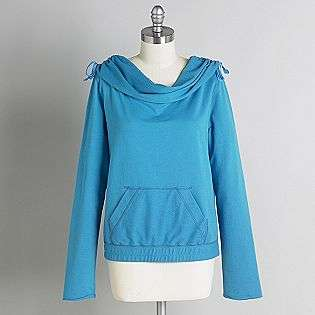 Womens Off The Shoulder Hoodie  Joe by Joe Boxer Clothing Womens