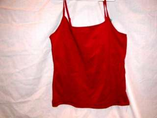 LADIES TOP DEREK HEART SZ M NEW JUNIORS SHIRT TOP TANK
