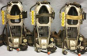 Scott 2.2 AP50 air pack SCBA Harness 2216 Air Pak low pressure EZ Flow