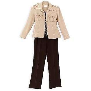 Piece, Jacket/Shell/Pant Set  Sag Harbor Clothing Womens Suits