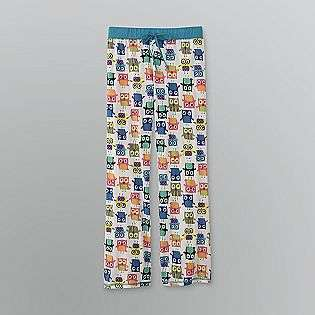 Womens Owl Print Lounge Pants  Joe Boxer Clothing Intimates Sleepwear