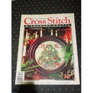 Cross Stitch and Country Crafts, November/ December 91 Cross Stitch