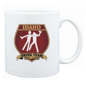 Idaho Drink Team Sign   Drunks Shield  Mug State
