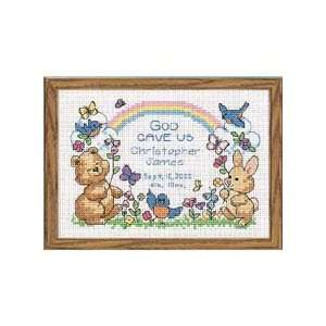 Gods Babies Birth Record Counted Cross Stitch Kit Office