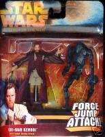 Star Wars OBI WAN KENOBI w/Super Battle Droid ROTS NIP
