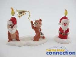 Mischief Makers CHIP & DALE Pluto Christmas Tree 2 Figure Set