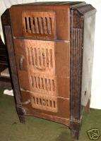 Large Art Deco Style Parlor Stove (Excellent Condition)