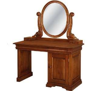 French Sleigh Vanity Dressing Table  Home & Kitchen