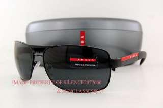 482cead5c8c ... Brand New Prada Sport Linea Rossa Sunglasses PS 54I 54IS 1BO 1A1 BLACK