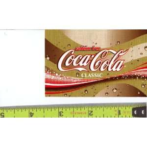 Medium Square Size Caffeine Free Coke Logo Soda Vending Machine Flavor