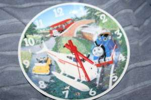 1992 THOMAS TANK ENGINE WEDGEWOOD CHINA CLOCK~NUMBERED