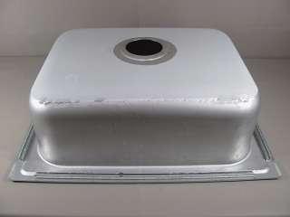 Elkay 20 Gauge 8 Deep Single Bowl Stainless Steel Sink