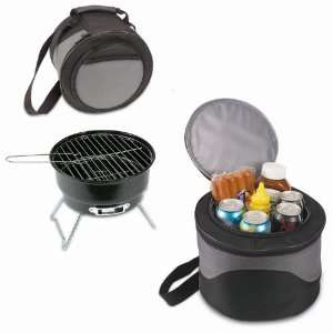 Caliente Cooler Tote with Charcoal Grill Inside Patio