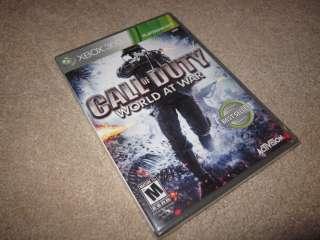 Call of Duty World at War (Xbox 360) COD WaW, NIB brand new & SEALED