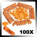 100 Sets Mutton Livestock Sheep Goat Use 100 Numbers Ear Tag Eartag