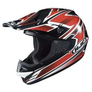 MX Thrust Motocross Helmet MC 1 Black/Red/White Extra Small XS 184 911