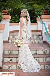 Bridal Wedding Dress Custom Size 4.6.8.10.12.14.16.18.20.22.24.26.28