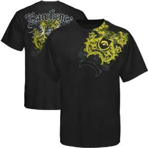 NCAA My U Iowa Hawkeyes Black Razor Wing T shirt Sports